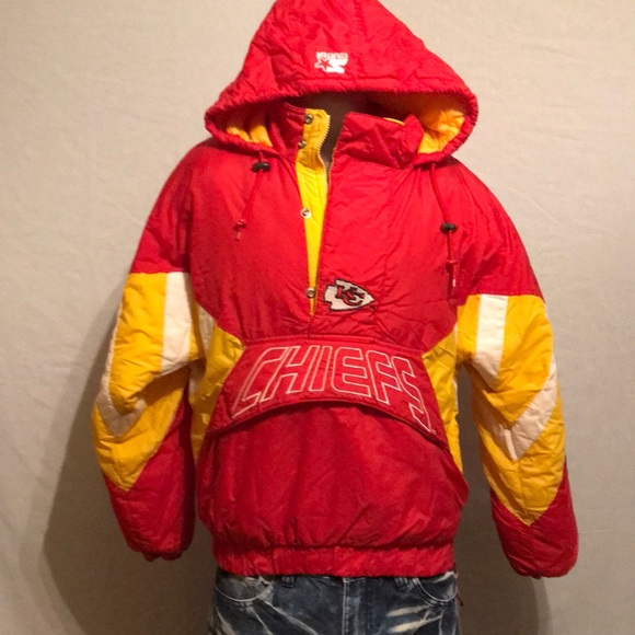 5237fba4 CLEAN - Vintage Starter Kansas City Chiefs Jacket